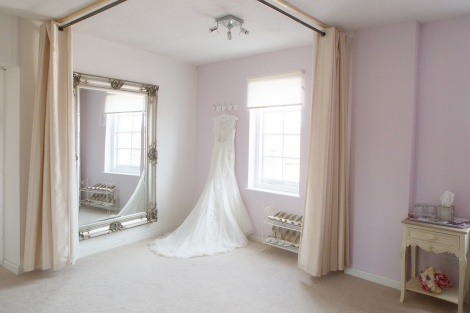 Butterfly Bridal Boutique Fitting Room