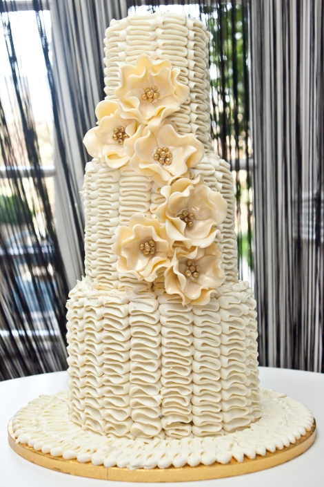 Ruffle Bloom Cake