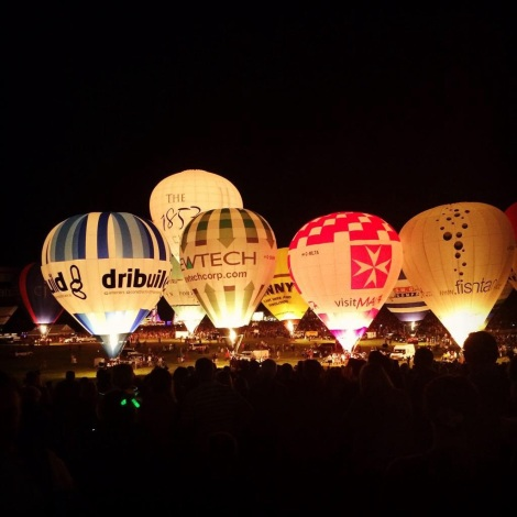 Bristol Balloon Fiesta Nightglow