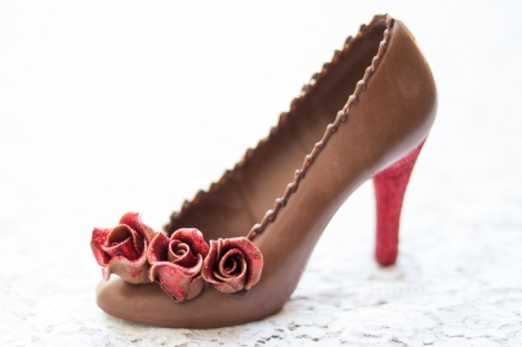 Bespoke Chocolate Shoes
