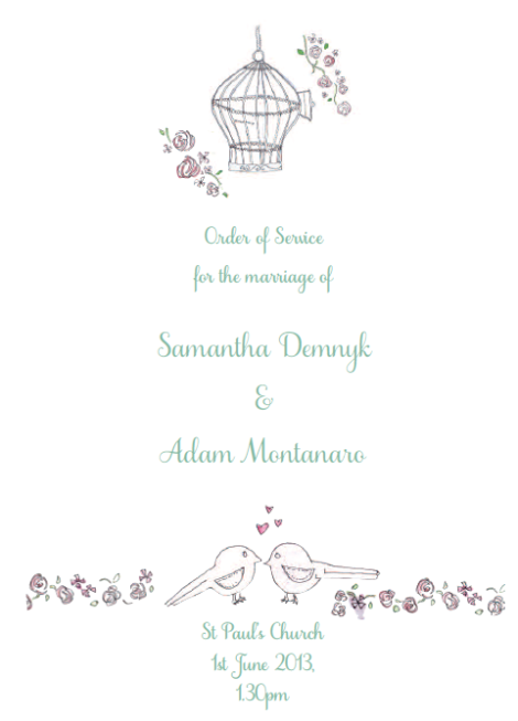 Adam and Sam's Wedding