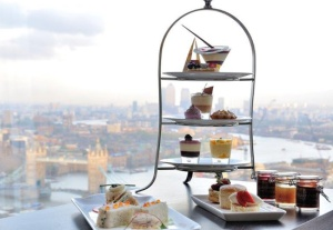 afternoon tea the shard