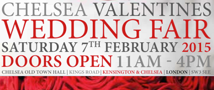 Chelsea Valentines Wedding Fair