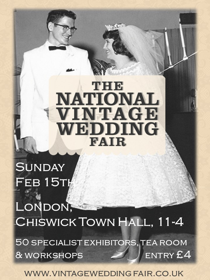 National Vintage Wedding Show Chiswick